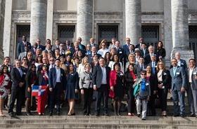 Imagen de los frentes parlamentarios contra el hambre