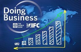 Logotipo del índice Doing Business del Banco Mundial