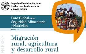 Portada del debate sobre migración y desarrollo rural
