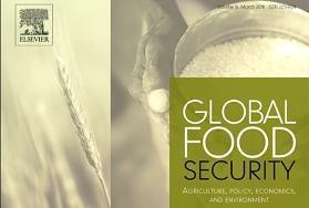 Portada de la revista Global Food Security