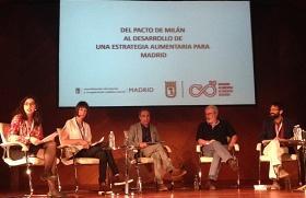Fotografía de una de las mesas de la II Conferencia contra el Hambre