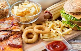 Imagen de alimentos que suelen contener gran cantidad de grasas trans