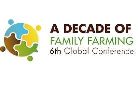 Logotipo de la VI Conferencia de agricultura familiar