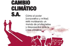 Detalle de la portada del libro Cambio Climático S.A.