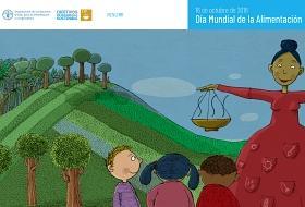 Concurso De Carteles Del Dia Mundial De La Alimentacion Observatorio Del Derecho A La Alimentacion De Espana