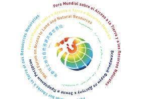 Logotipo del Foro Mundial sobre el acceso a la tierra y a los recursos naturales