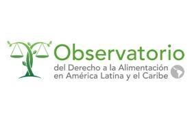 Logo del Observatorio del derecho a la alimentación de América Latina y el Caribe