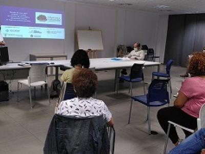 Imagen del taller realizado en Valladolid para presentar las conclusiones de la investigación